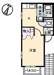 HOME PORT(ホームポート)[1階]の間取り