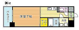 FERIO Kiyomizu[5階]の間取り