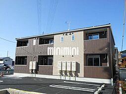 愛知県北名古屋市井瀬木五反地の賃貸アパートの外観