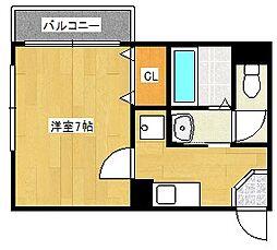 アースヒルズ[8階]の間取り