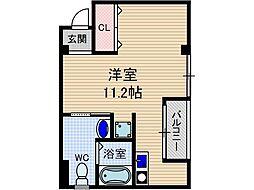 山崎第4マンション[5階]の間取り