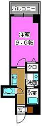 クラシカル大手門[3階]の間取り