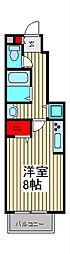 グランシャリオN[1階]の間取り