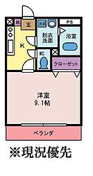 エテルノ[1階]の間取り