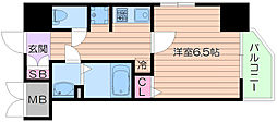 BONNY松崎町[11階]の間取り