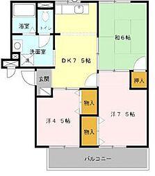 兵庫県尼崎市西難波町6丁目の賃貸アパートの間取り