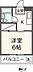 間取り,1K,面積19.8m2,賃料4.3万円,JR中央線 武蔵境駅 徒歩12分,西武多摩川線 新小金井駅 徒歩19分,東京都武蔵野市境南町5丁目13-5