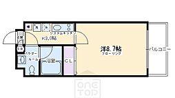 サイト祇園八坂[3階]の間取り