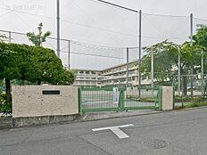 町田市立鶴川第二中学校 距離240m