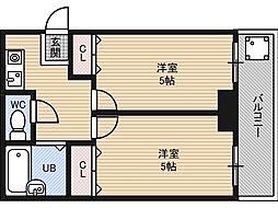 豊新セリオ[4階]の間取り