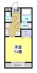 カモミール[4階]の間取り