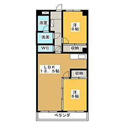 宮地興産ビル[9階]の間取り
