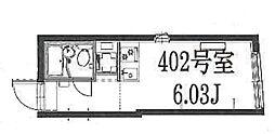 ゴールドレジデンシア大塚[402号室]の間取り