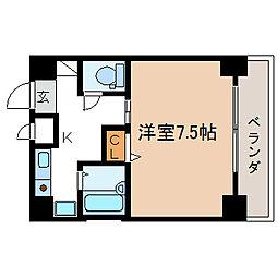 ANENEX IZUMI[3階]の間取り
