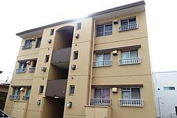 愛知県岡崎市六名3丁目の賃貸マンションの外観