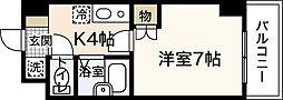 プロスペリテタケダ[8階]の間取り
