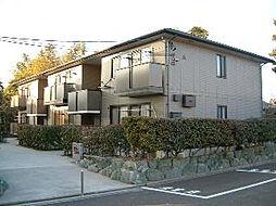 愛知県安城市大岡町山伏の賃貸アパートの外観