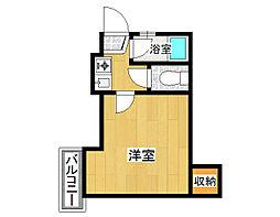 グリーンターフ・セゾン[2階]の間取り