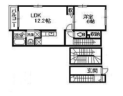 コモドカーサ レモン館[3階]の間取り