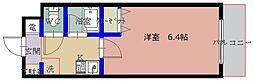 ファウンテ千里山II[2階]の間取り
