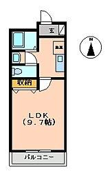 マンション大洋2[C-8号室 号室]の間取り