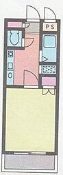 シャンツェ南台[0302号室]の間取り