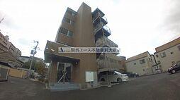 大阪府東大阪市岩田町5丁目の賃貸マンションの外観