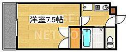 カーサフォレスト西賀茂[3F201号室号室]の間取り