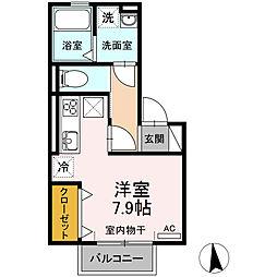 仮)D-room今池町[202号室]の間取り