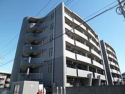 東京都羽村市栄町2丁目の賃貸マンションの外観