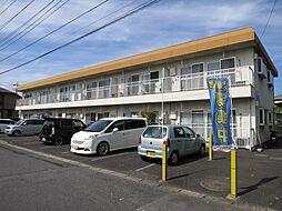 東京都西多摩郡瑞穂町箱根ケ崎西松原の賃貸アパートの外観