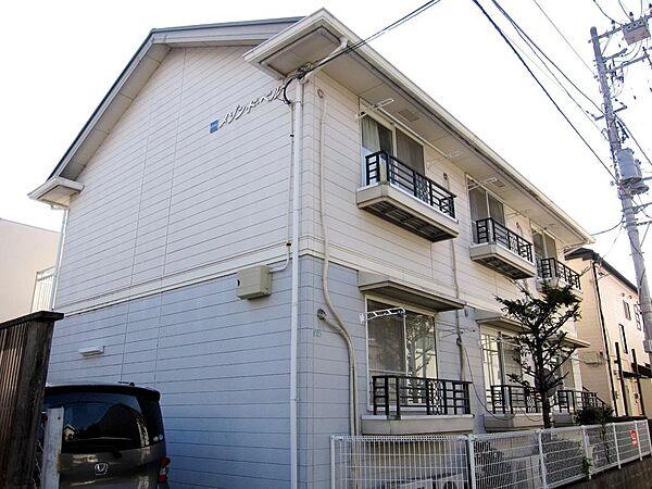 東京都立川市柴崎町2丁目の賃貸アパートの外観