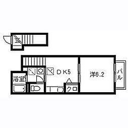 セピアコート2 A棟[2階]の間取り