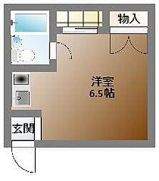 ロイヤル南堀江[1階]の間取り