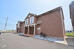 ソレ−ユ上曽根B[2階]の外観