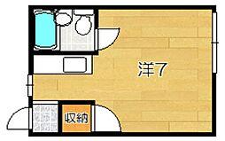 ハイツジュン[3階]の間取り