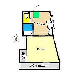 フレグランスみなみ3[3階]の間取り