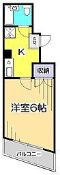HOUSEマメニティ3[4階]の間取り