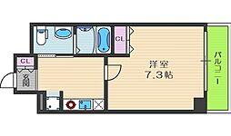 セイワパレス堂島シティ[6階]の間取り