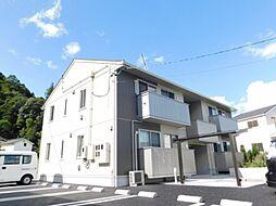 広島県広島市安佐北区三入2丁目の賃貸アパートの外観