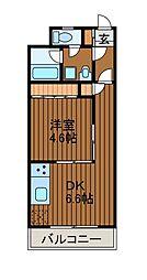 プライムガーデン2[5階]の間取り