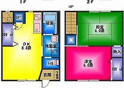 [テラスハウス] 静岡県三島市徳倉4丁目 の賃貸【静岡県 / 三島市】の間取り