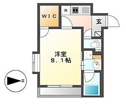 ベルビレッジ覚王山[3階]の間取り