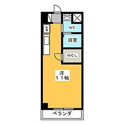 ソレーユ本郷18[2階]の間取り