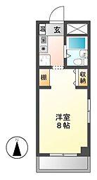 BELLE TOPIA稲沢 II[5階]の間取り