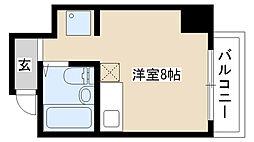 愛知県名古屋市南区明治2の賃貸マンションの間取り