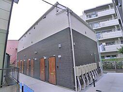 東京都葛飾区柴又1丁目の賃貸アパートの外観