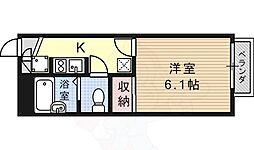 JR東海道・山陽本線 高槻駅 バス9分 南平台東下車 徒歩5分の賃貸アパート 2階1Kの間取り