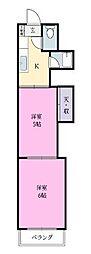 新実籾ビル[3階]の間取り