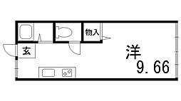 川崎ビル[5階]の間取り